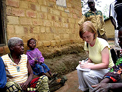 Fall 2008 IRP Fellow Katie Thomas reports from the Republic of the Congo.